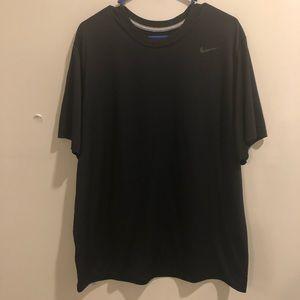 Nike Dri Fit athletic shirt Black lightweight